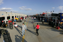 Activity in the garage area