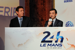 Gerard Neveu, Head of WEC and Pierre Fillon, ACO president