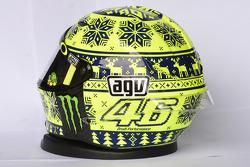 Helm von Valentino Rossi, Yamaha Factory Racing
