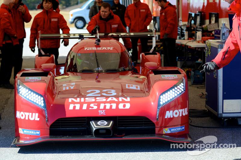 Olivier Pla testet den Nissan GT-R LM NISMO