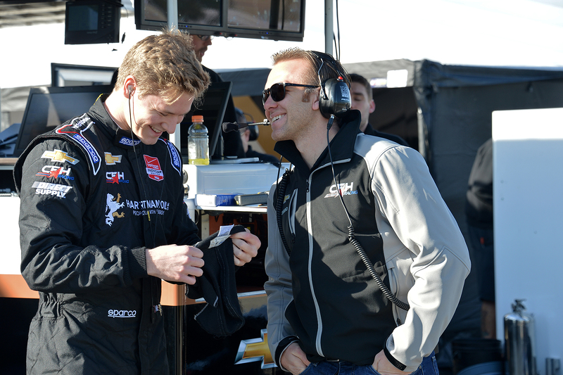 Josef Newgarden und Ed Carpenter