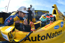 Marco Andretti y Ryan Hunter-Reay
