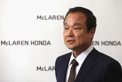 Takanobu Ito, presidente y CEO de Honda