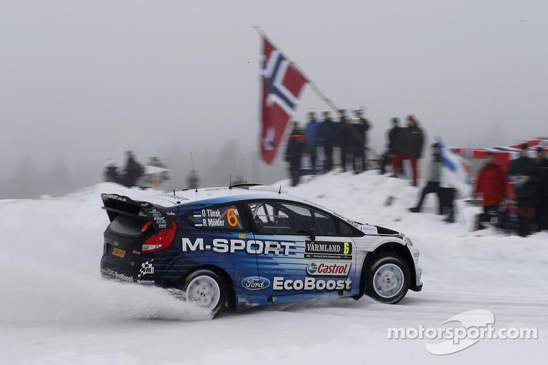 Ott Tanak和Molder Raigo, 福特Fiesta WRC,M-Sport世界拉力车队