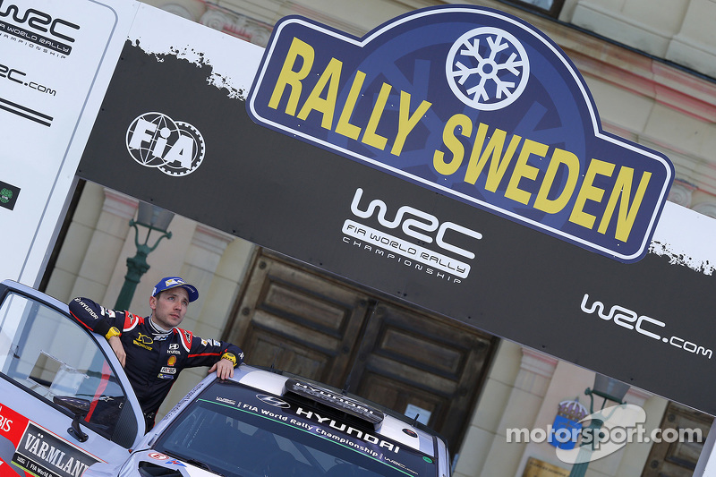 2. Thierry Neuville und Nicolas Gilsoul, Hyundai i20 WRC, Hyundai Motorsport