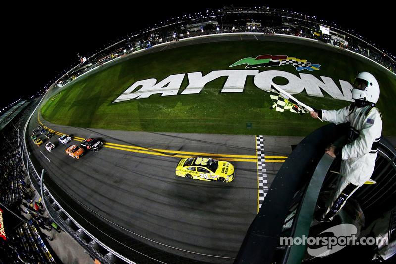 Matt Kenseth, Joe Gibbs Racing, Toyota, siegt