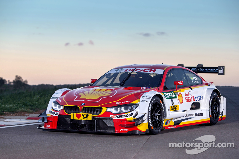 BMW reveals new livery for DTM car at BMW reveals new livery for DTM car