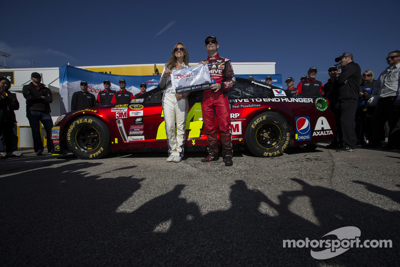 Pole-Sitter: Jeff Gordon, Hendrick Motorsports, Chevrolet, mit Miss Coors,Light