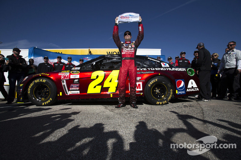 Pole-Sitter: Jeff Gordon, Hendrick Motorsports, Chevrolet