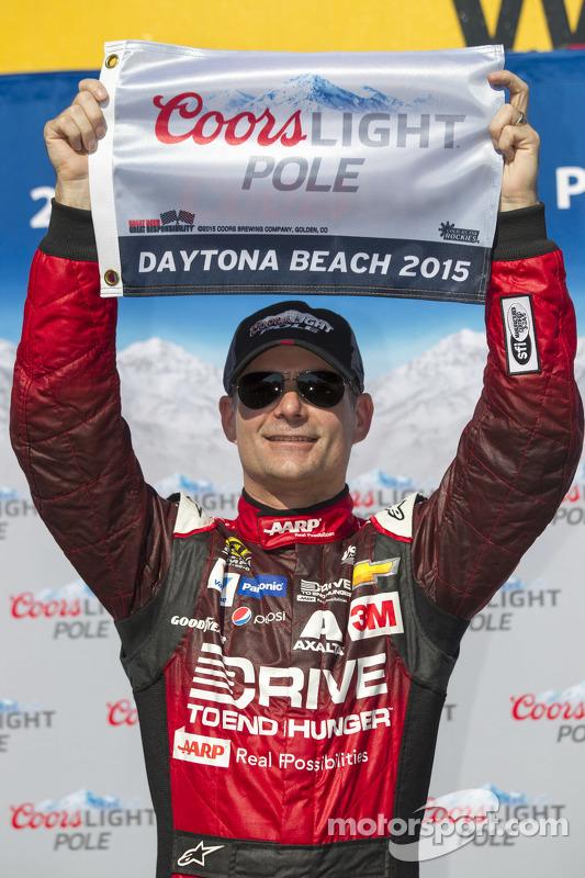 Pole Jeff Gordon, Hendrick Motorsports Chevrolet