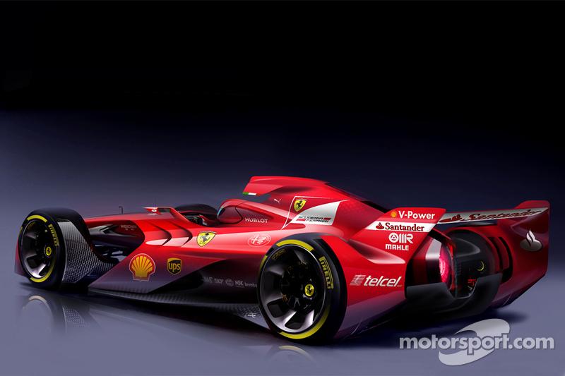 Formel-1-Designstudie: Ferrari (2015)