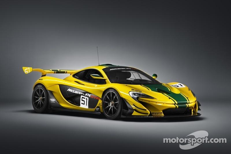McLaren P1 GTR, Präsentation