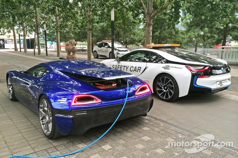 La completametne elettrica hypercar di Rimac Automobili