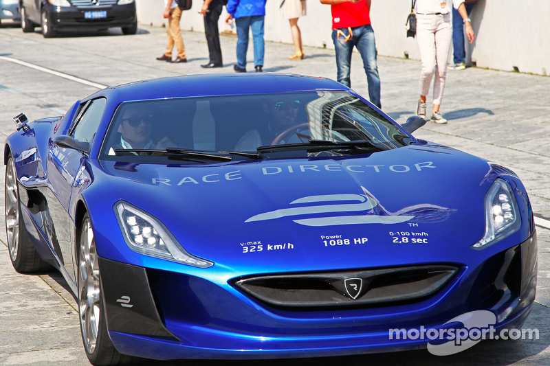 all-electric Rimac Automobili hypercar