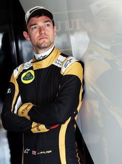 جوليون بالمر، سائق اختبار واحتياطي فريق لوتس اف1