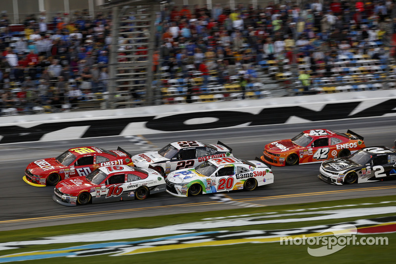 Ryan Reed, Roush Fenway Racing Ford leads