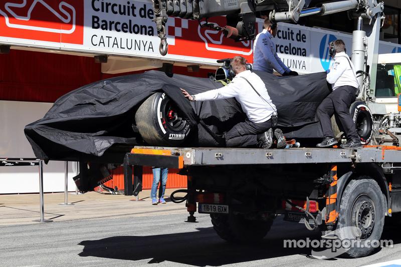 Las pruebas de invierno en 2015 en Barcelona