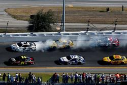 Brad Keselowski, Team Penske, Ford, in Schwierigkeiten
