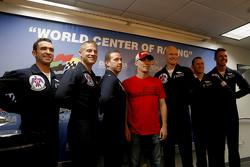 Kevin Harvick, Stewart-Haas Racing, Chevrolet, mit den Thunderbirds der US-Luftwaffe