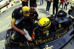 Ayrton Senna, Lotus et Gérard Ducarouge