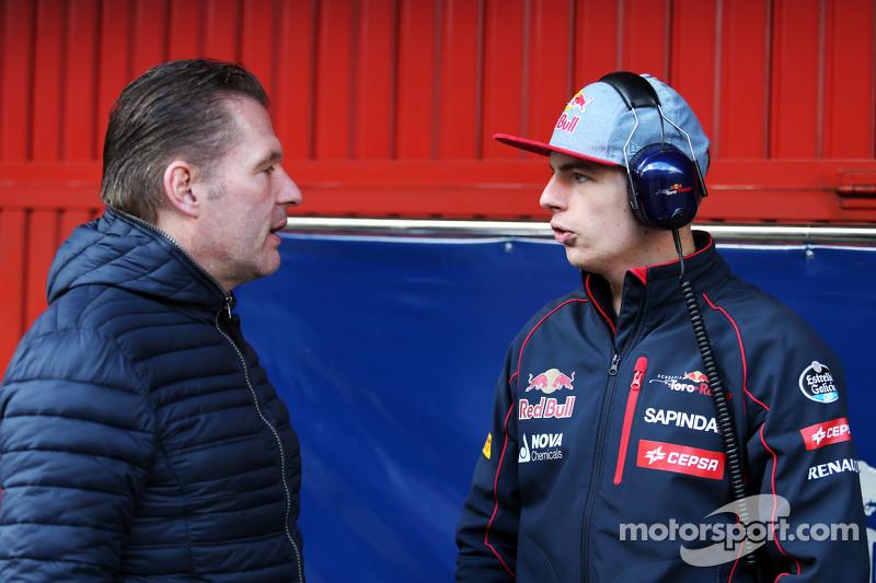 Макс Ферстаппен, Scuderia Toro Rosso зі своїм батьком Йос Верстаппен