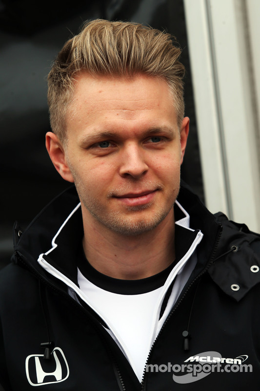 Kevin Magnussen, piloto de testes da McLaren