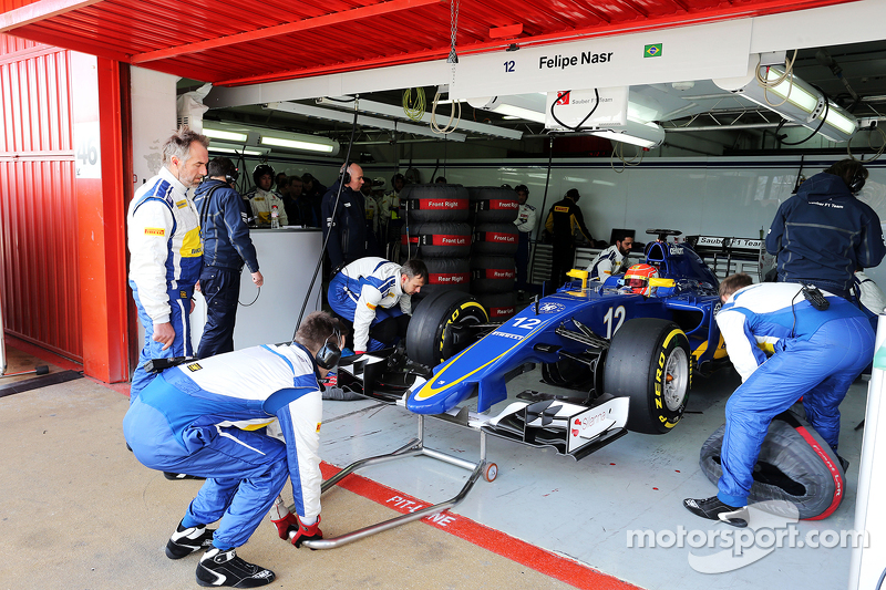 Felipe Nasr, Sauber C34