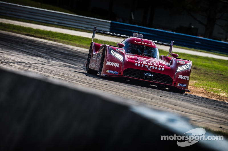 Nissan GT-R LM Nismo testing