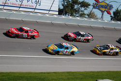 Dale Earnhardt Jr., Jeff Green, Carl Edwards and Johnny Benson