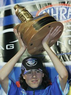 Fan Nationals champion Evan Keaton