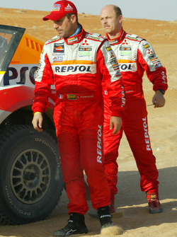 Stéphane Peterhansel and Jean-Paul Cottret