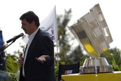 Miami press conference: NASCAR President Mike Helton
