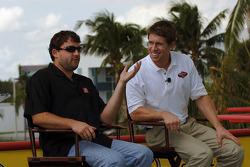 Miami press conference: Tony Stewart and Carl Edwards