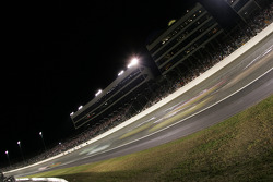 Cars at speed in Turn 1