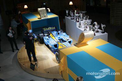 Celebración del campeonato de Renault F1, París