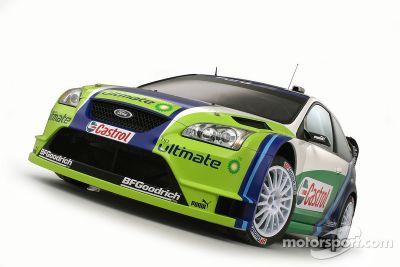 Présentation de la Ford Focus RS WRC 06
