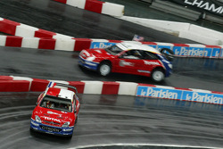 Quarter final: Sébastien Loeb and Travis Pastrana