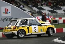 Démonstration de Jean Ragnotti dans la Renault 5 Maxi Turbo