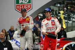 Champagne for Sébastien Loeb and Tom Kristensen