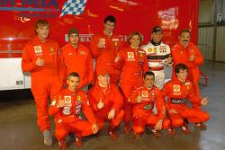 The Ferrari 360 Challenge Trofeo Pirelli drivers