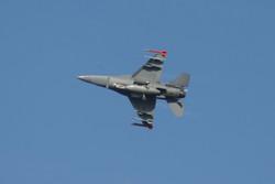 Jet landing at Homestead Air Base