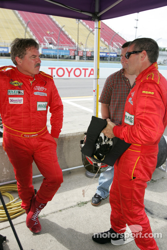 Bobby Labonte et Terry Labonte
