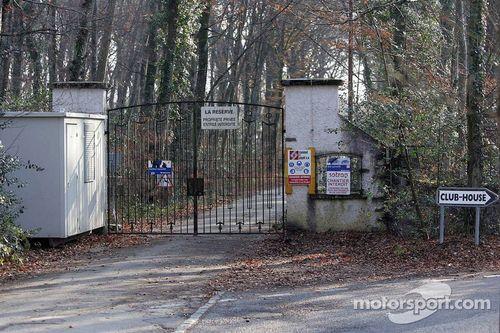 Michael Schumacher'in evine ziyaret
