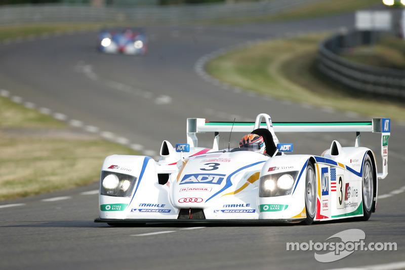 2005: JJ Lehto, Marco Werner, Tom Kristensen, Audi R8