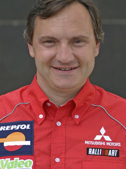 Team Repsol Mitsubishi Ralliart: Dominique Serieys