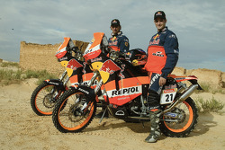 Team Repsol KTM Junior: Jordi Duran and Jordi Viladoms