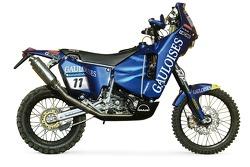 La KTM Gauloises de Michel Gau