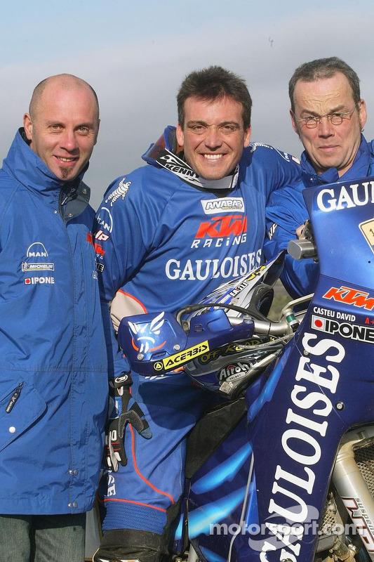 Team Gauloises KTM : David Casteu