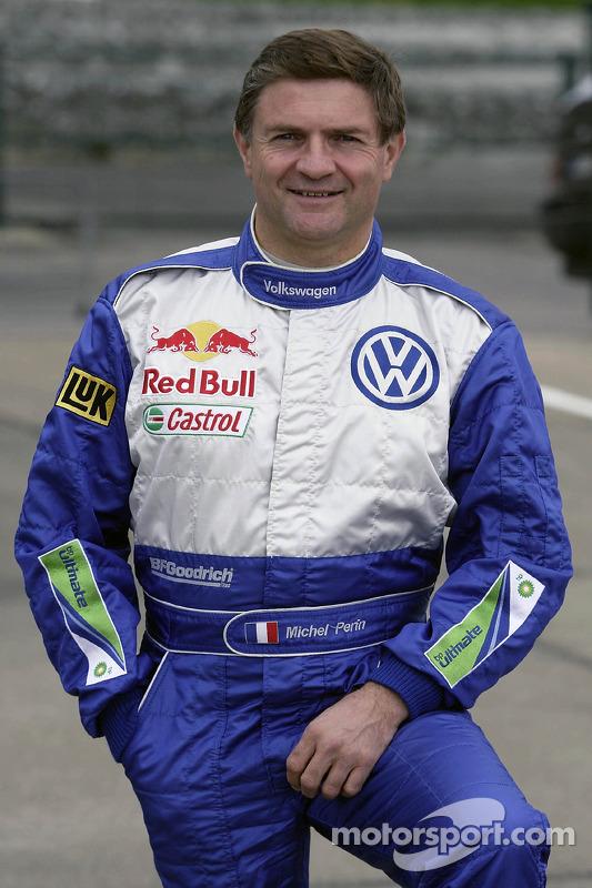 Volkswagen Motorsport: Michel Périn, co-pilote de Bruno Saby