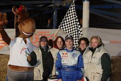 Volkswagen Motorsport: Jutta Kleinschmidt at 'Wetten Dass…?'